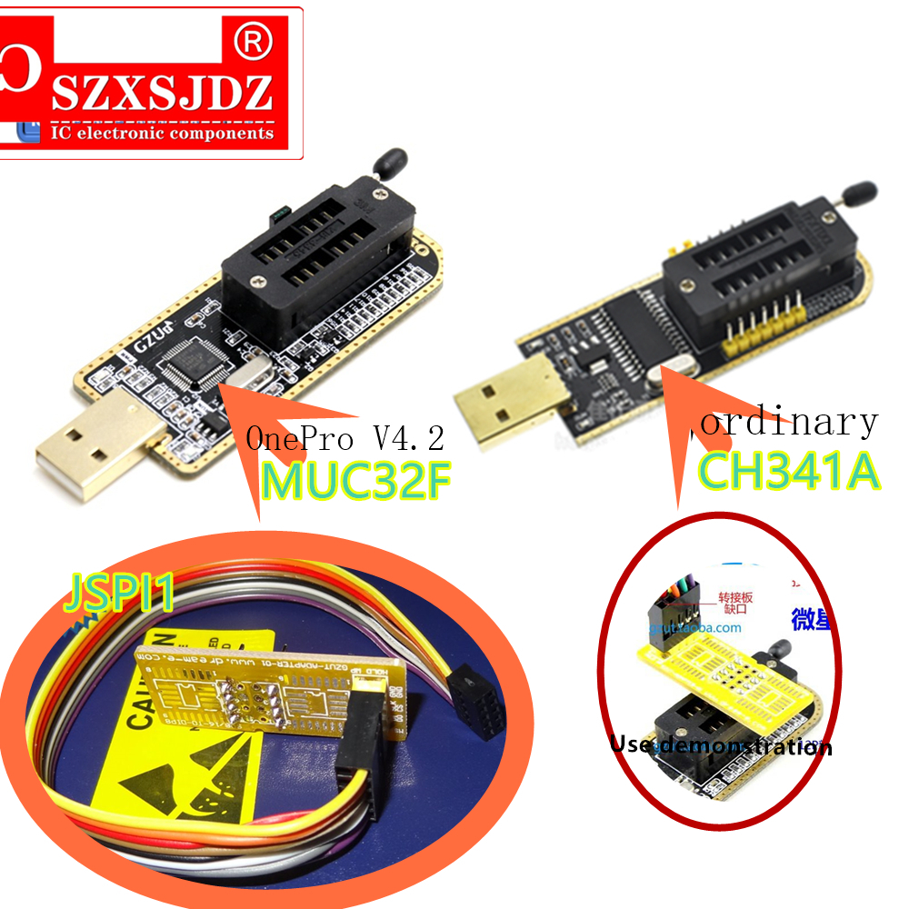 For MSI Motherboard BIOS Free chip Removal Adapter Flashing machine Cable JSPI1 programmer to save brick Fresh BIOS Kit