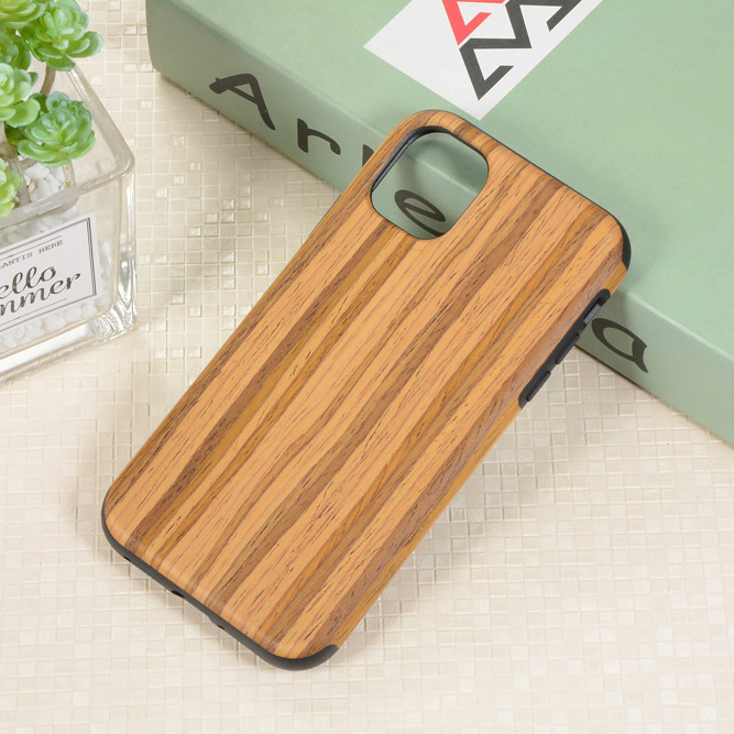 RainMan Retro Wood Case for iPhone 11/11 Pro/11 Pro Max 1