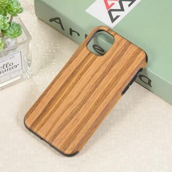 RainMan Retro Wood Case for iPhone 11/11 Pro/11 Pro Max 1