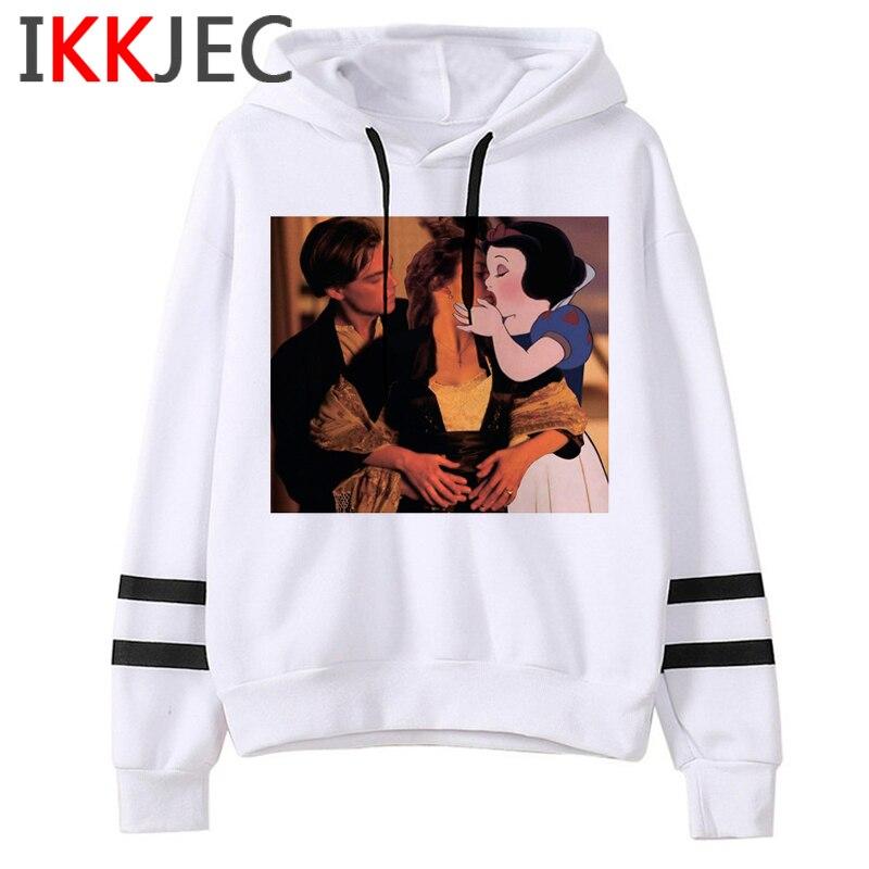 Aesthetic Harajuku Funny Cartoon Hoodies Women/men Grunge Princesses Vintage Sweatshirt 90s Graphic Fashion Hoody Female/male 23