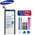 Samsung 100% оригинальный телефон батарея EB-BG935ABE для samsung GALAXY S7 Edge G9350 G935FD SM-G935F аутентичный аккумулятор 3600 мАч