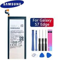 Samsung 100% Original Telefon Batterie EB BG935ABE Für Samsung GALAXY S7 Rand G9350 G935FD SM G935F Batterie Authentische 3600mAh-in Handy-Akkus aus Handys & Telekommunikation bei