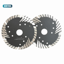 цены 125mm Diamond Blades Cutting Disc Hot Pressed Turbo Blade With Slant Protection Teeth Stone Concrete Wheel