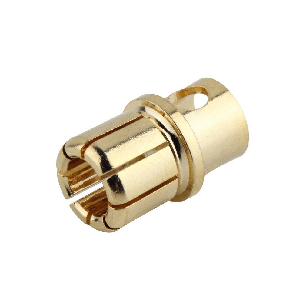 NEW 8.0/3.0 Male Gold Bullet Banana Plug Connectors RC Battery Electronic Hook Professional portable Fashionion