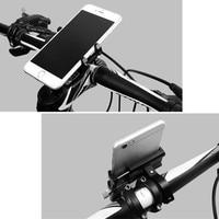 Soporte de teléfono para bicicleta y Scooter, soporte de montaje para teléfono móvil, Clip para manillar, teléfono inteligente, Moto, envío directo