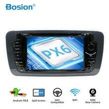 Bosion Android 10 araç DVD oynatıcı radyo Seat Ibiza 6j 2009 2010 2012 2013 GPS navigasyon 2 Din ekran radyo ses multimedya oynatıcı