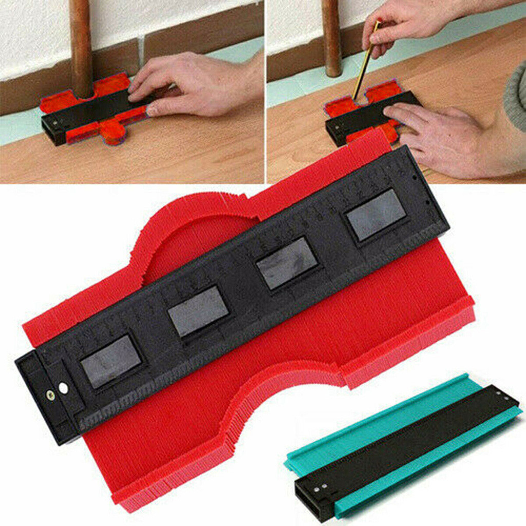 254 Mm / 10 Inch Profiler Plastic Profile Duplicator Copier Round Frame Profiler Tool Measuring Construction Gadget #10