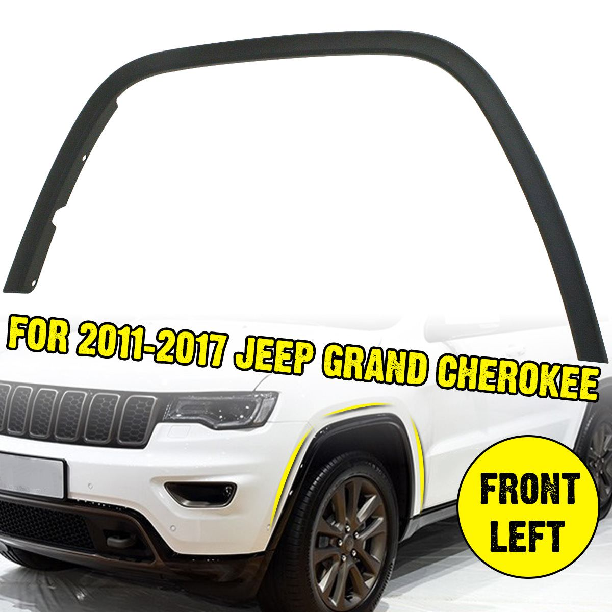 Car Front Left Fender Flares Arch Wheel Auto Mudguard Fender Flare Protector Cover Mud Guard For Jeep Grand Cherokee|Mudguards| |  - title=