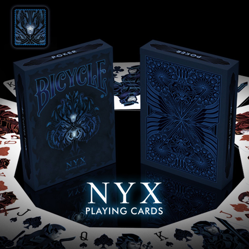 1 Deck Bicycle NYX Playing Cards Regular Bicycle Cards Rider Back Deck Card Magic Trick Magic Props