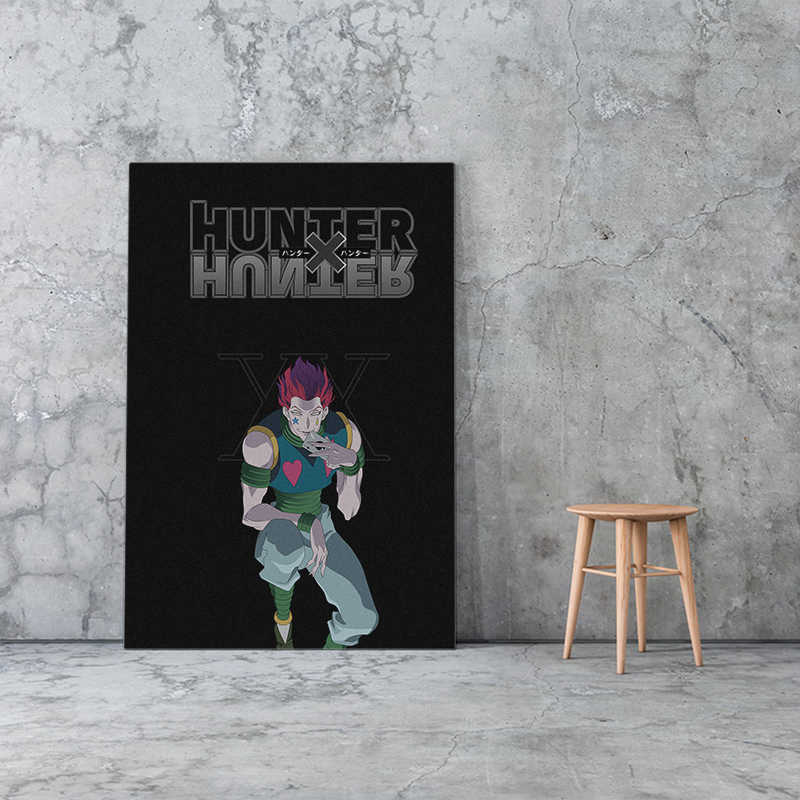 Wall Art Home Decoration Hunter X Hunter Canvas Print Schilderij Japanse Anime Modulaire Foto Posters Moderne Woonkamer Frame