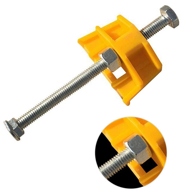 BMBY-Tile Leveling System -10Pcs Tile Leveler Height Adjuster Locator Fine Thread Rising For Tiling Tools
