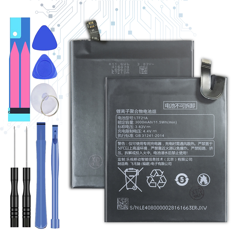 LTF21A Replacement Battery For LeEco Letv Le Phone Le 2 X620 / Le 2 Pro X520 X527   3000mAh With Track Code