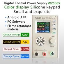 Buck – convertisseur cc cv 50v 5a, module d'alimentation régulée réglable, variable, alimentation de laboratoire, communication wz5005