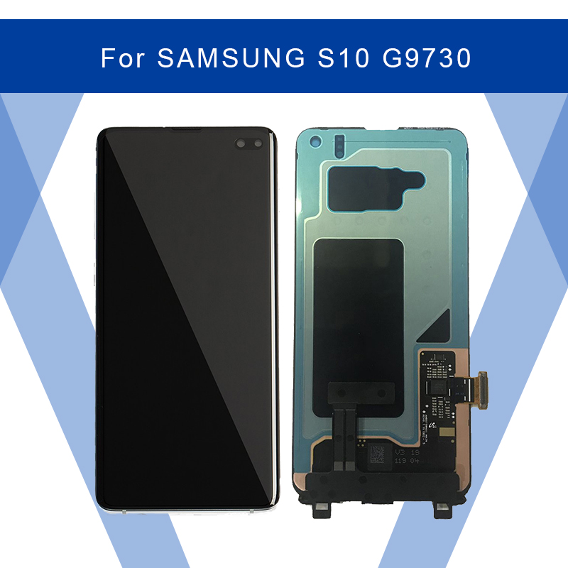 For <font><b>SAMSUNG</b></font> Galaxy <font><b>S10</b></font> G9730 <font><b>LCD</b></font> AMOLED <font><b>screen</b></font> Display <font><b>Screen</b></font>+Touch Panel Digitizer Assembly For <font><b>SAMSUNG</b></font> Display Original image