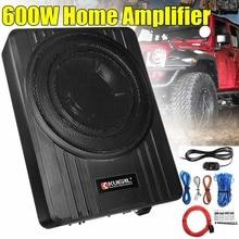 Speaker Car Subwoofer Audio Under-Seat Bass-Horn Power-Amplifier Stereo 600W Ce High-Resolution
