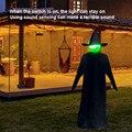 Украшения на хэлоуин, популярный товар звук Управление индукционный светильник светящиеся звук людей рука об руку ведьмы с привидениями до...