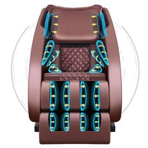 Image 5 - LEK F6 otomatik sıfır yerçekimi masaj koltuğu tam vücut elektrikli yoğurma Shiatsu ısıtmalı masaj koltuğu recliner vergi dahil