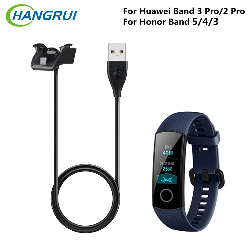Hangrui Magnetic USB <font><b>Charger</b></font> For <font><b>Honor</b></font> <font><b>Band</b></font> 5 <font><b>4</b></font> 3 Standard Version Smart Wristband Cradle Dock Cable For Huawei <font><b>Band</b></font> 3 Pro 2 Pro image