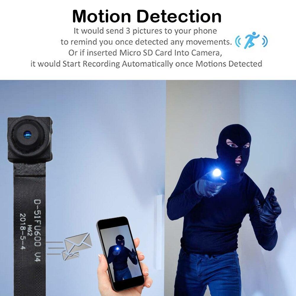 1080P Мини Wi fi камера DV видеокамера wifi P2P TF Запись видео Обнаружение дистанционное управление камера безопасности ночное видение