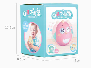Image 5 - Baby Newborn Toys Nodding Tumbler Toys For Kid Ring Bell Cute Roly poly Educational Rattle Baby Development Toys