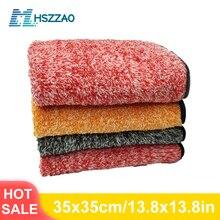 Auto Detaillering 35x35cm Auto Wassen Doek Microfiber Handdoek Car Cleaning Rag Voor Cars Dikke Microfiber Voor car Care Keuken