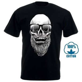 Create Your Own Shirt Printed T Shirts Gs Eagle Men'S Skull With Beard And Sunglasses Hipster Graphic T Shirt 012258