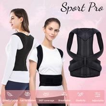 Corrector de postura ajustável volta apoio ombro volta cinta correção postura coluna corretora postural saúde fixer fita