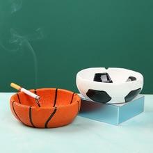 Desktop-Ornaments Football Home-Decoration-Accessories Basketball-Ashtray Living-Room