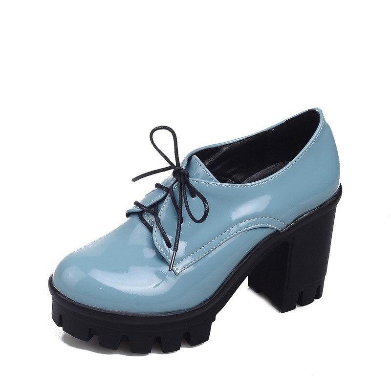 2019 осенние винтажные Туфли гладиаторы в стиле ретро, панк, готика, рок; туфли лодочки на платформе со шнуровкой на высоком каблуке; женская о