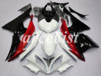 New ABS Motorcycle Full Fairings Kit Fit For YAMAHA YZF-R6 2008 - 2016 08 09 10 11 12 13 14 15 16 body set White Black Red