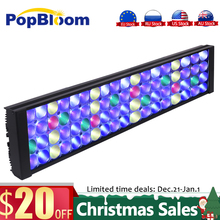 PopBloom Aquarium led light for aquarium reef led aquarium lamp full spectrum reef aquarium light led coral reef Tank Turing50