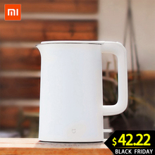XIAOMI MIJIA Electric kettle Smart Constant Temperature Control kitchen Water kettle samovar 1.5L Thermal Insulation te