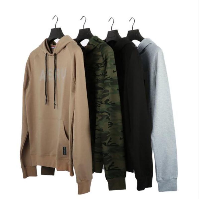 Mens Sweatshirt Hoodies Loose hip hop O-Neck pullover sportswear Gyms Fitness