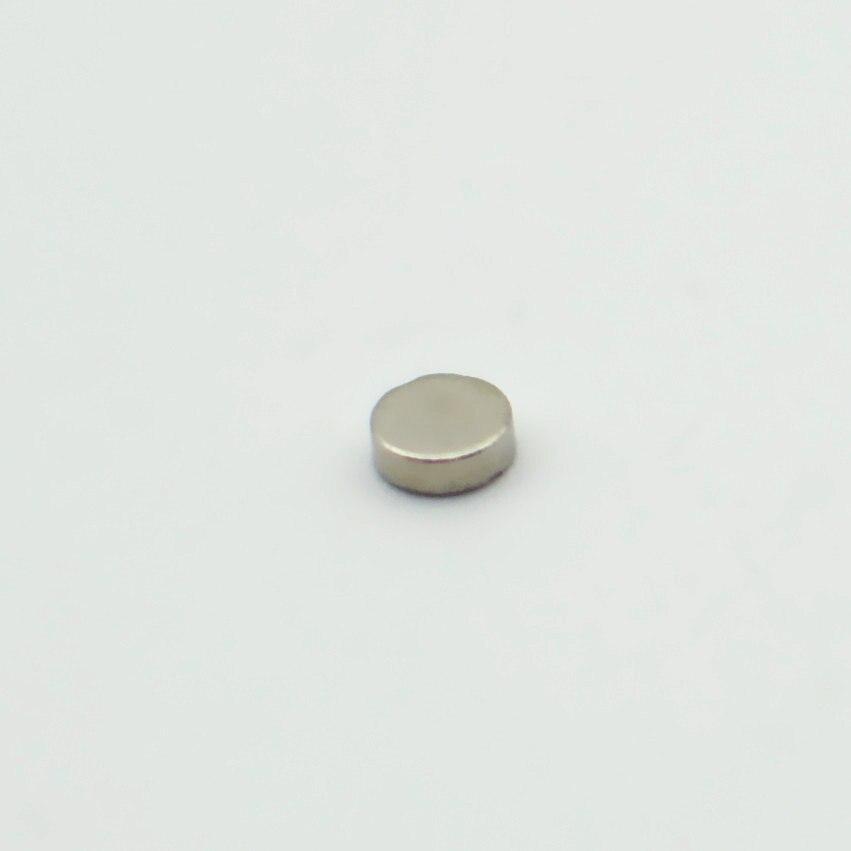 Dia. 3x1.5mm 3x1mm ímã de jóias ndfeb disco médico neodímio ímãs permanentes n35 nicuni axialmente magnetizados 200-20000 pces