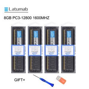 Оперативная память Latumab 8 ГБ 16 ГБ DDR3 1600 МГц PC3 12800, оперативная Память Dimm 240 контактов 1,5 В, модуль оперативной памяти для настольного ПК