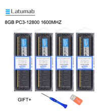 Latumab 8GB 16GB DDR3 1600MHZ PC3 12800 Desktop Memory Dimm Memory Ram 240 Pins 1.5V Desktop PC Memory RAM Memory Module new sealed ddr3 1333mhz pc3 10600 8gb desktop ram memory full compatible ddr3 lifetime warranty