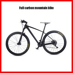 Kompletny rower mtb pełny rower górski nowy rower górski z włókna węglowego 33s 30s 22s 11s pojedyncza prędkość 29