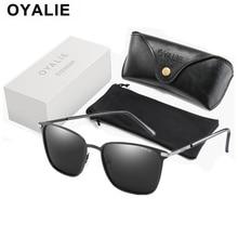 Брендовые поляризованные солнцезащитные очки для мужчин, модные классические квадратные очки для женщин, мужские солнцезащитные очки Gafas de sol mujer с подарочной коробкой