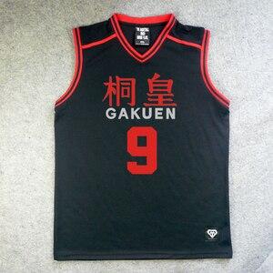 Image 5 - Ücretsiz kargo Anime forması Kuroko hiçbir Basuke Cosplay kostüm çok Gakuen okul basketbol takımı spor kıyafet Aomine Daiki forması