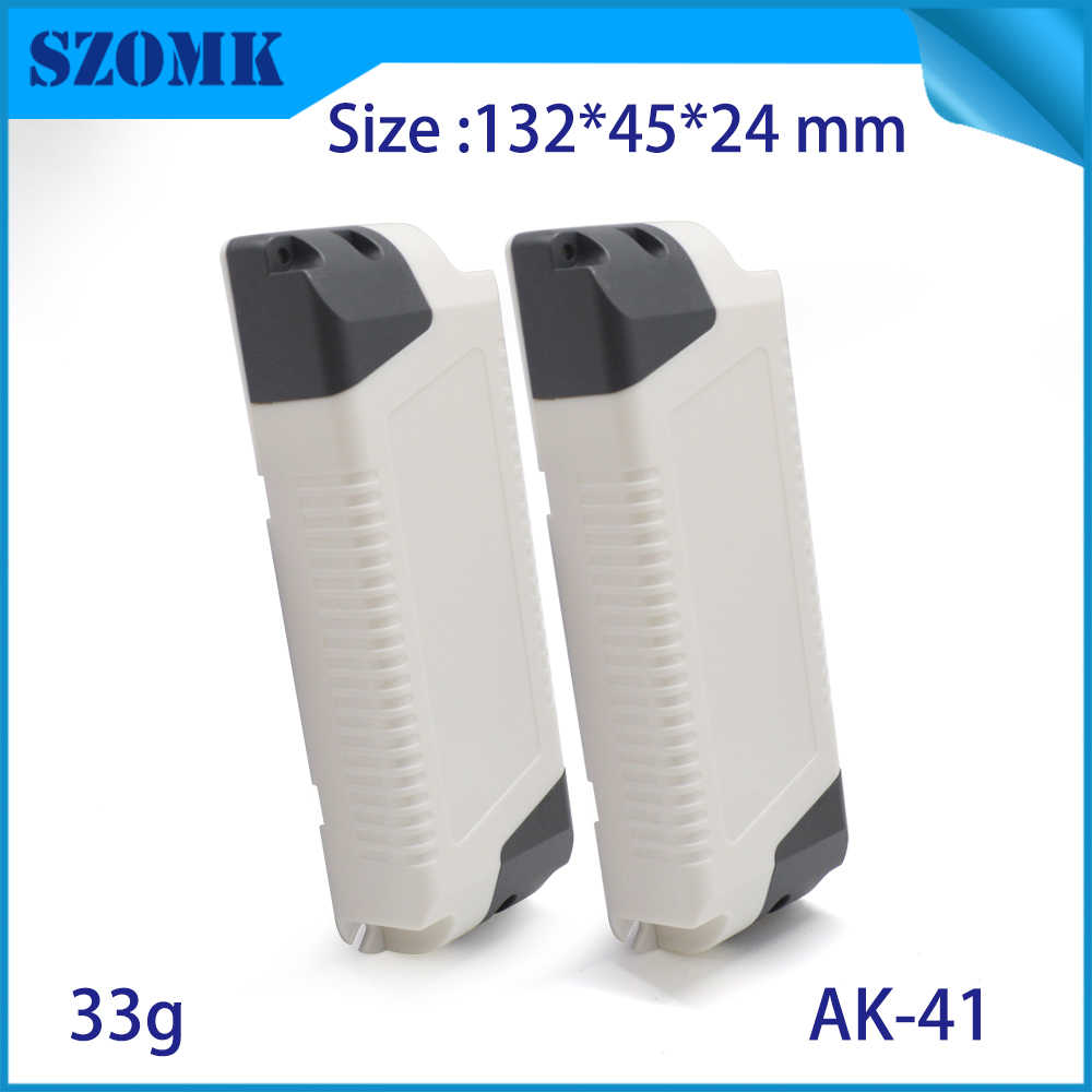 10 sztuk cena fabryczna abs z tworzywa sztucznego LED dostarczanie obudowa kontroler elektroniczny skrzynka przyłączeniowa 132*45*24