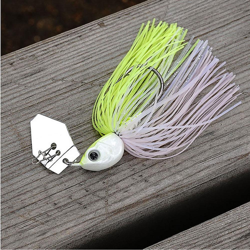 Original Chatterbait 14g 1/2 oz Chatter Bait  Pike Bass Fishing Lure Buzzzbait Buzz Bait  Mustad Hook-2