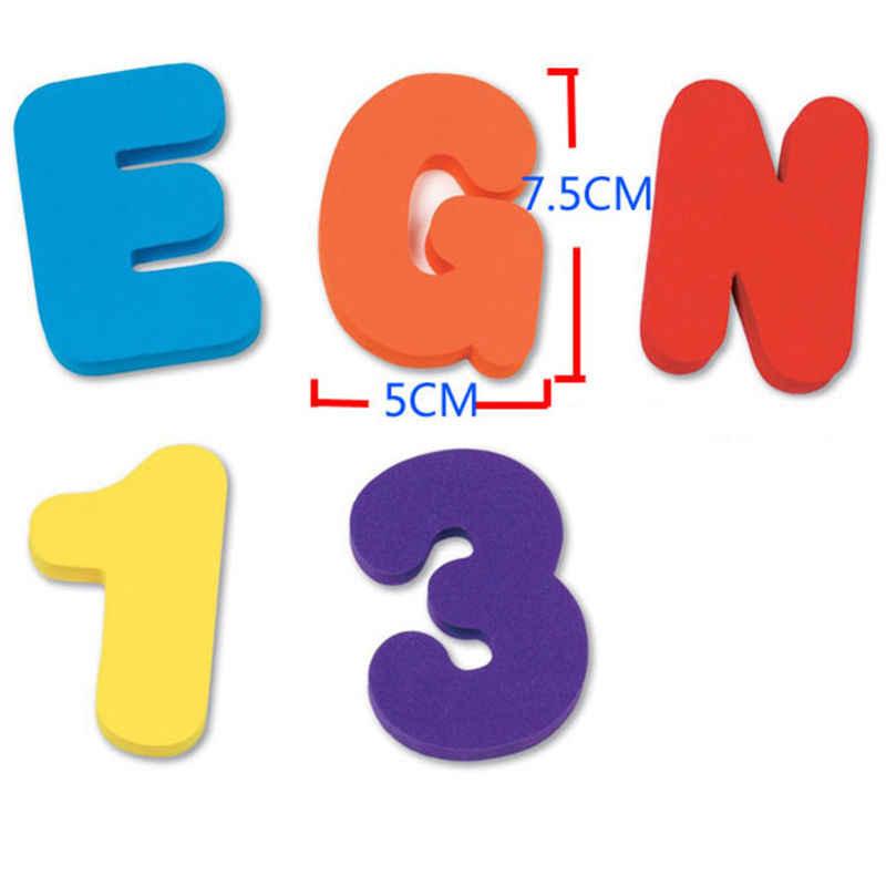 36 teile/satz Baby Kinder Kinder Pädagogisches Spielzeug Buchstaben Zahlen Schaum Schwimm Bad Badewanne Alphabet Lernen Junge Mädchen Kid Spielzeug