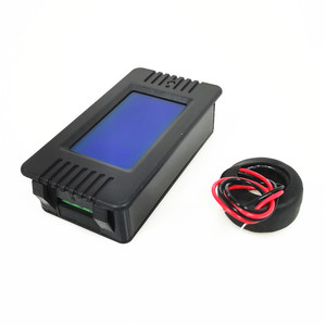 Image 3 - Peacefair 6in1 220V 100A AC Single Phase Digital Panel Amp Volt Current Meter Watt Kwh Power Factor Energy Meter With Coil CT