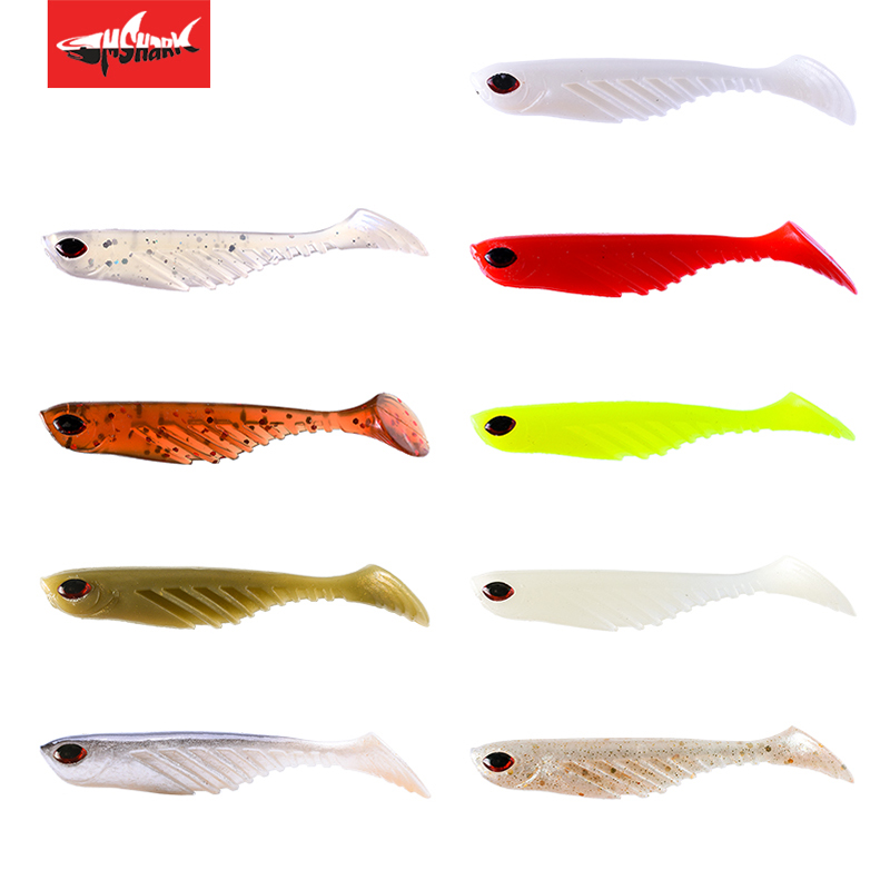 Coloretto 3D Augen Jigging Wobbler Angeln Weicher Köder 5 cm/6 cm/8 cm/9,5 cm Aritificial lockt Bass Pike <font><b>Fishing</b></font> Tackle image