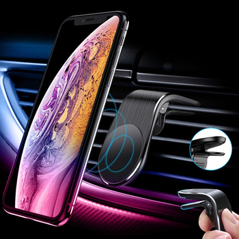 Magnetic Car Phone Holder Air Vent Clip Mount Strong Magnet Mobile Telephone Stand For Phone In Car Support Smartphone GPS Navig image