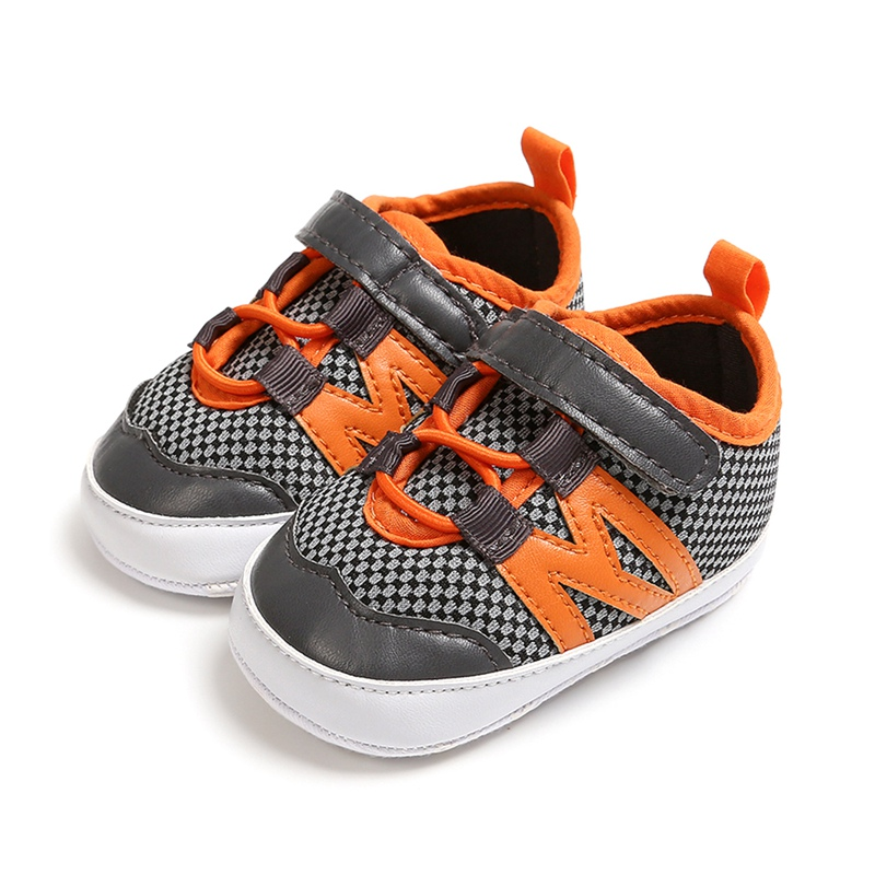 Autumn Baby Shoes Boy Breathable Anti-Slip Shoes Sneakers Toddler Soft Soled Casual Baby Shoes In First Walkers