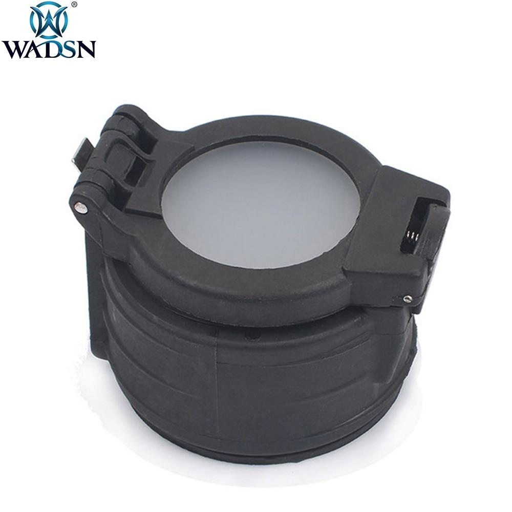 WADSN Tactical 25mm Diameter Flashlight Diffuser Filter For Surefir M961 M910 M300 M600 Weapon Flashlight