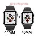 IWO 12 умные часы  пара часов  серия 5  с 30 циферблатами  для iPhone  huawei  поддержка  сообщение  пуш-ап  подарок для влюбленных