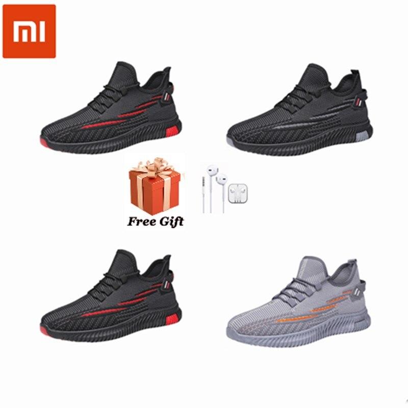 Xiaomi 4 поколения 2,0 мужские кроссовки 2021 Весенняя Новинка для активного отдыха и развлечений; Полет сплетенный дышащие кроссовки