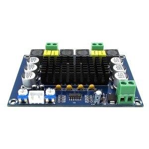 Image 2 - 120W * 2 TPA3116D2 Çift Kanallı Stereo Dijital elektrikli ses yükseltici Kurulu 12 V 24 V TPA3116 Sınıf D HIFI DIY Amplificador Modülü